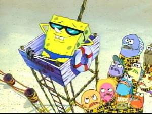 Sponge bob for Koi pond builders orlando fl